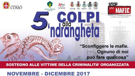 """22 novembre/ Mariano Comense/ """"Le reti istituzionali antimafia e l'utilizzo dei beni confiscati"""""""