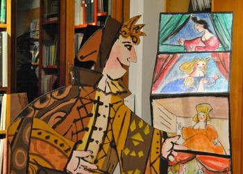 Flauto magico 2/ La mostra alla Libreria Plinio il Vecchio