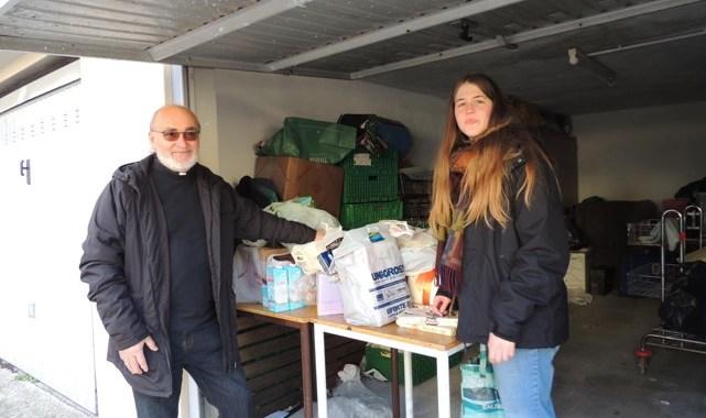 Il cibo del Bivacco solidale al Centro diurno don Guanella