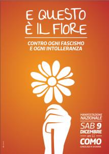 7Grani a Como sul palco della manifestazione nazionale contro ogni fascismo e intolleranza