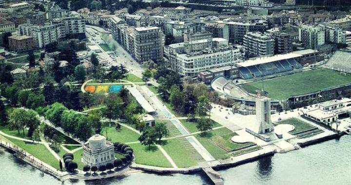 Luca Michelini/ I giardini pubblici a lago