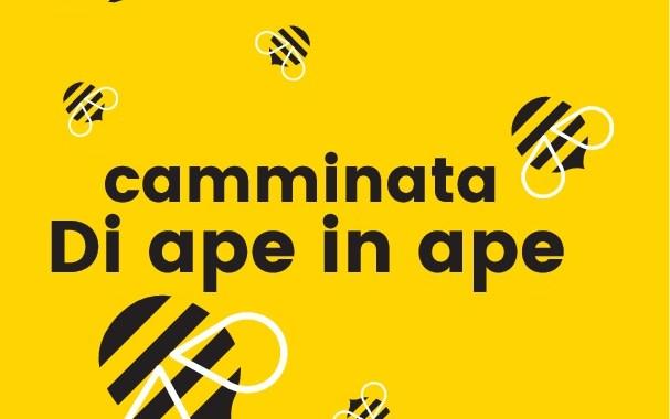 Domenica 3 giugno passeggiata creativa di ape in ape