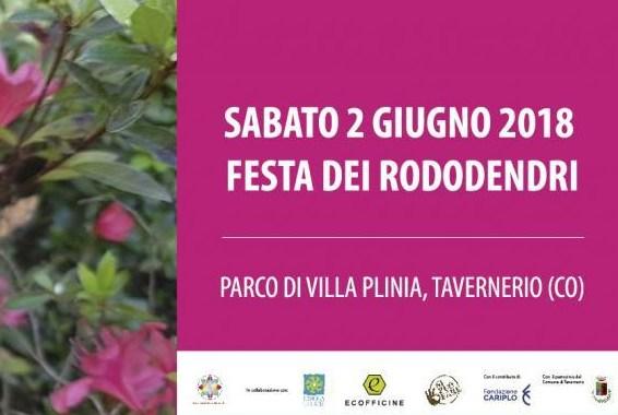2 giugno/ Tavernerio/ Festa dei rododendri