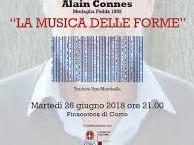 """26 giugno/ """"La musica nelle forme"""" con Alain Connes"""