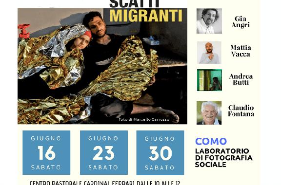 16, 23 e 30 giugno/ Ancora posti disponibili per il Laboratorio di fotografia sociale con Angri, Vacca, Butti e Fontana
