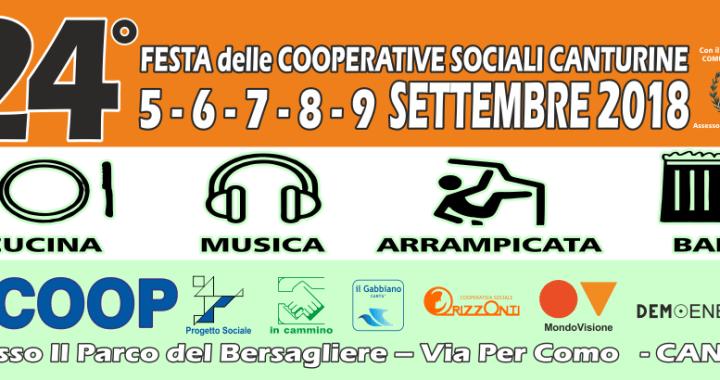 Cantù: Festa delle Cooperative sociali al parco del Bersagliere dal 5 al 9 settembre