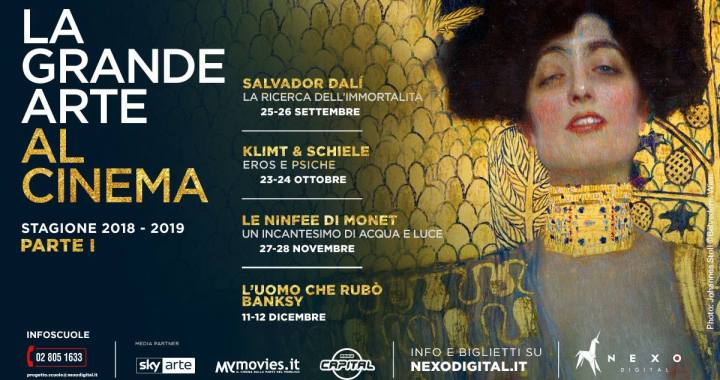 """23 ottobre/ La grande arte allo Spazio Gloria/""""Klimt e Schiele, Eros e Psiche"""""""