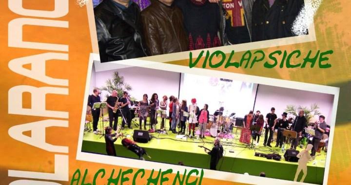 """16 novembre/ """"Violarancio"""" allo Spazio Gloria. Serata tributo ai Violapsiche"""