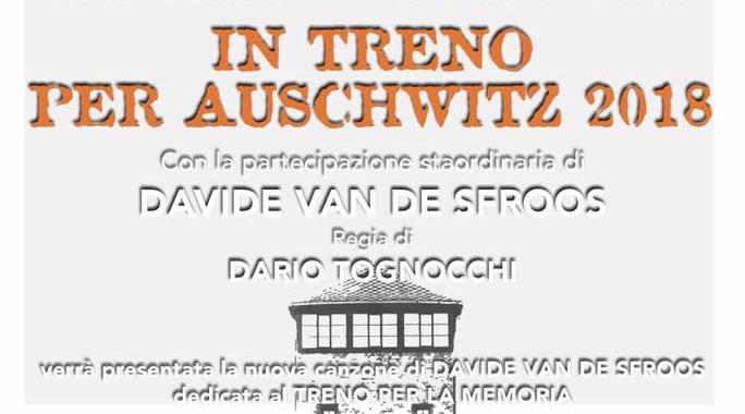 """6 novembre/ """"In treno per Auschwitz 2018"""" in anteprima allo Spazio Gloria"""