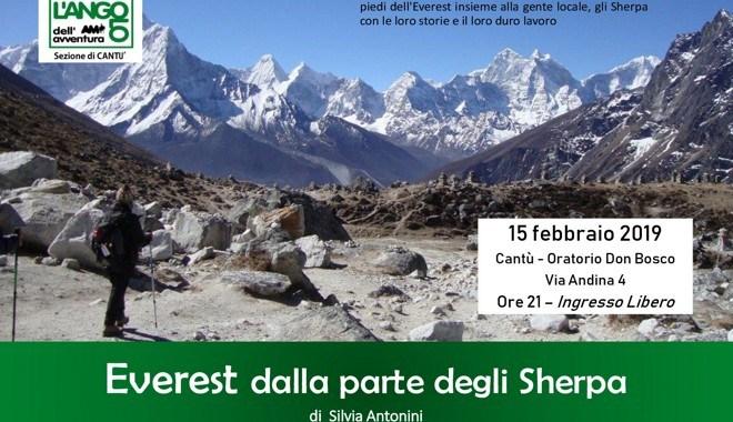 15 febbraio/ Everest  dalla parte degli Sherpa