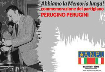 Il partigiano Perugino Perugini a 10 anni dalla scomparsa