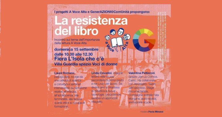 15 settembre/ La resistenza del libro a L'isola che c'è