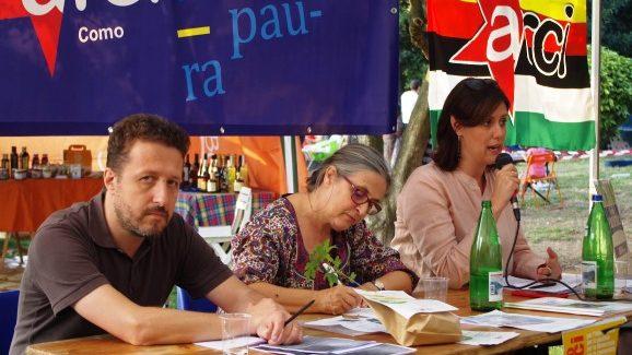 Nkm0/ Europe for future, l'Europa per l'ambiente/ Braga, Grossi e Vaccaro alla Casa dei popoli