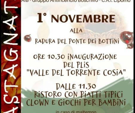 1 novembre – Finalmente il parco del Cosia!