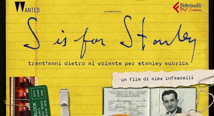 "26 maggio/ Arciwebtv/ ""S"" come Stanley (Kubrick)"