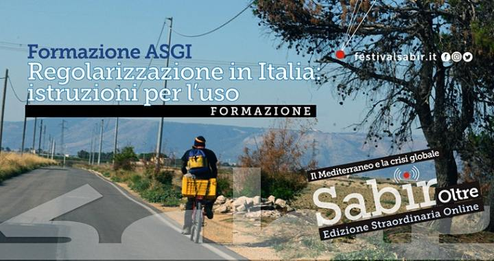 11 giugno/ Arciwebtv/ Sabir 2020/ Regolarizzazione in Italia: istruzioni per l'uso