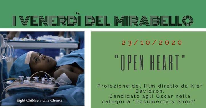 23 ottobre/ Arci Mirabello/ Cineforum a cuore aperto