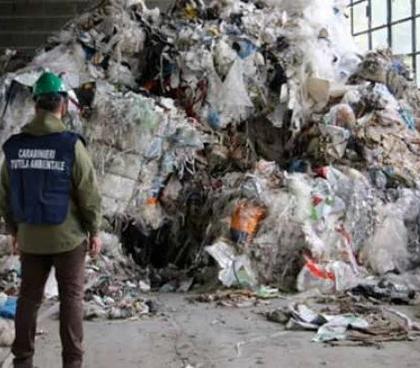 fotografia del nucleo Carabinieri tutela ambientale