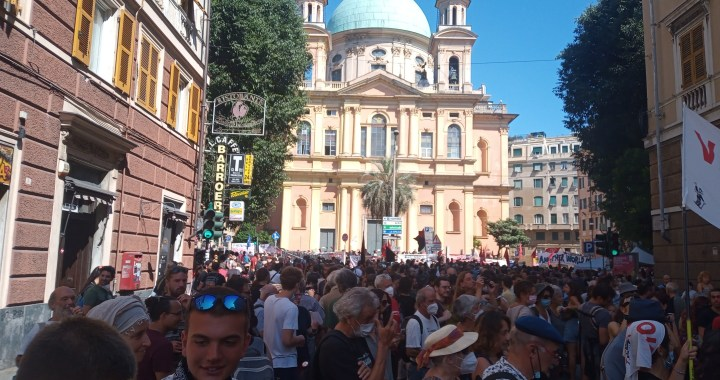 Genova 2021/ Emozioni, tristezza, speranza