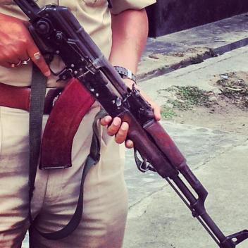 Assam_Police_AK_47