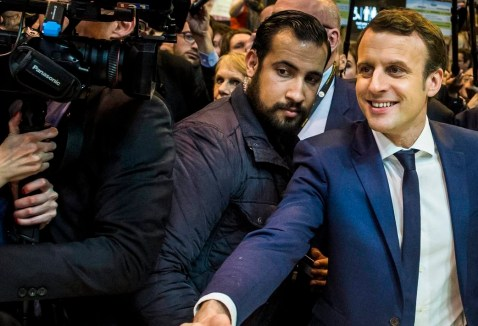 Security Elysee Palace official Alexandre Benalla political scandal