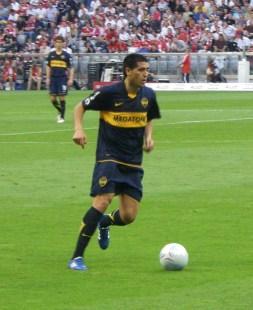 Juan_Riquelme_beim_Audi_Cup