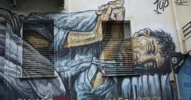 Exarchia: tra anarchismo, resistenza e street art
