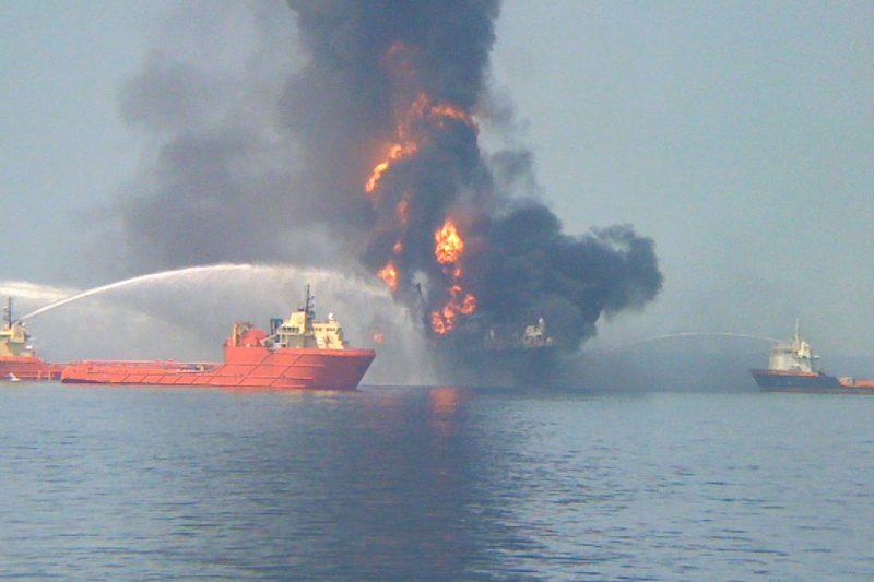 golfo del Messico disastro deepwater