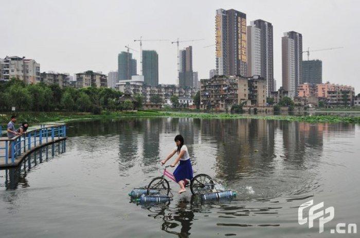 bicicleta anfibia casera2