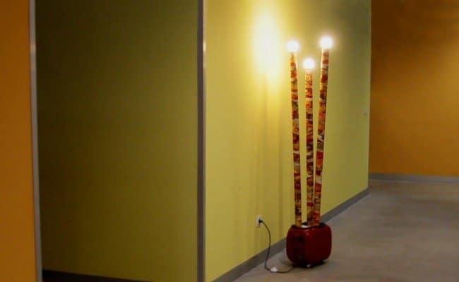 Lámpara Bambulb
