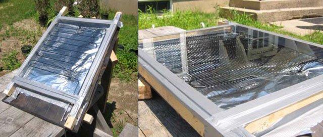 10 propuestas de calentadores solares caseros - Calentar piscina solar ...