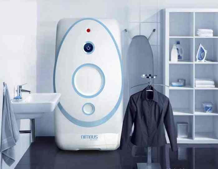Nimbus, la lavadora que lava sin una gota de agua