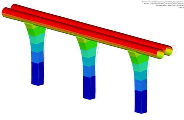 Hyperloop tubo