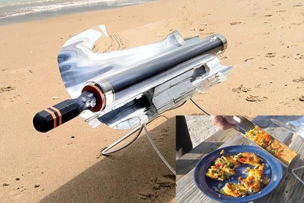 Cocina solar GoSun