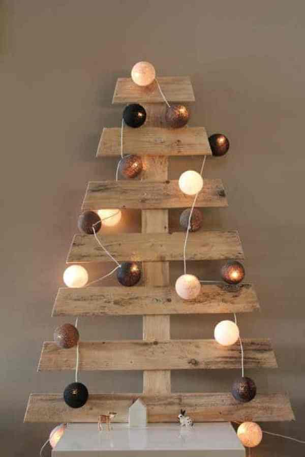 Otro árbol de navidad con palet