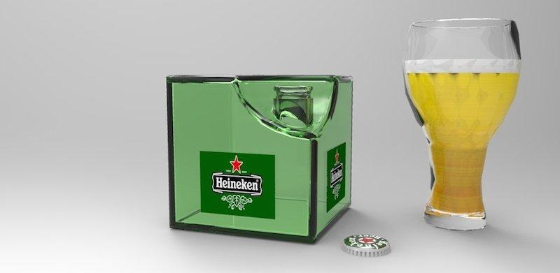 cubo di Heineken