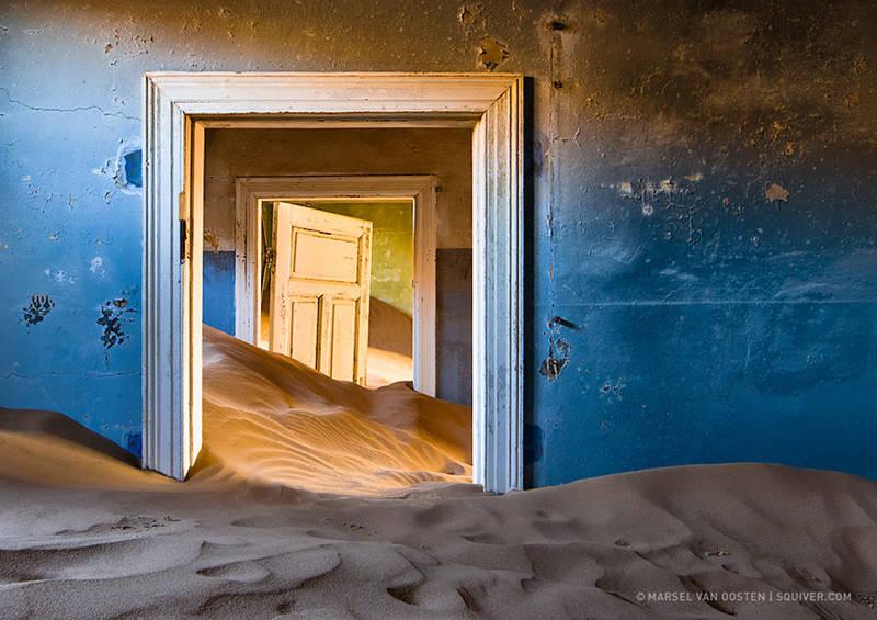 Ciudad minera abandonada