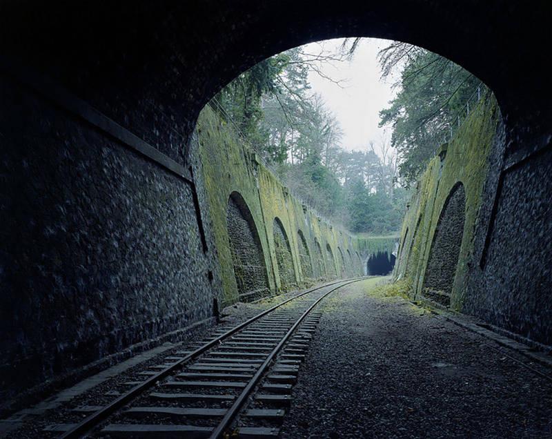 Ferrocarril de 160 años abandonado en París