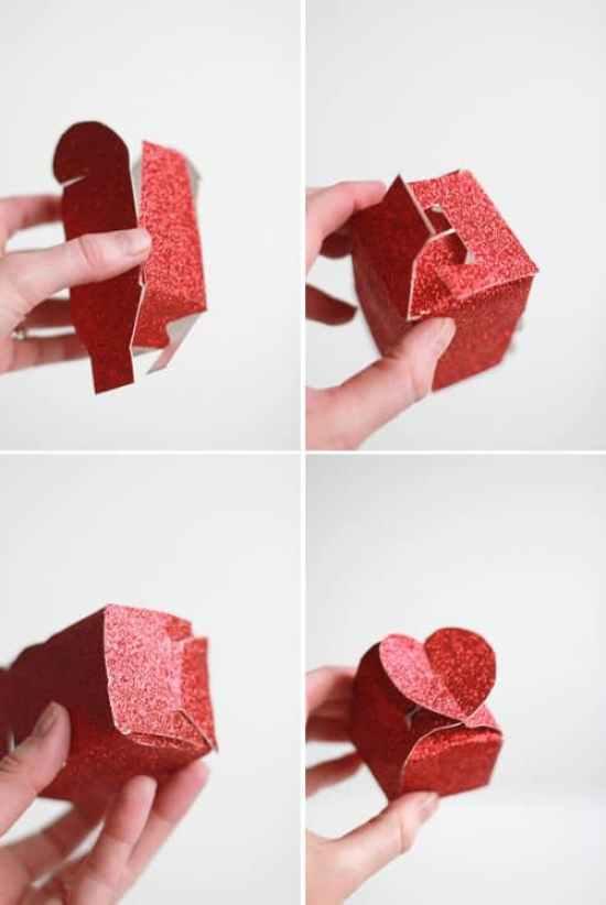 caja corazones dia de los enamorados