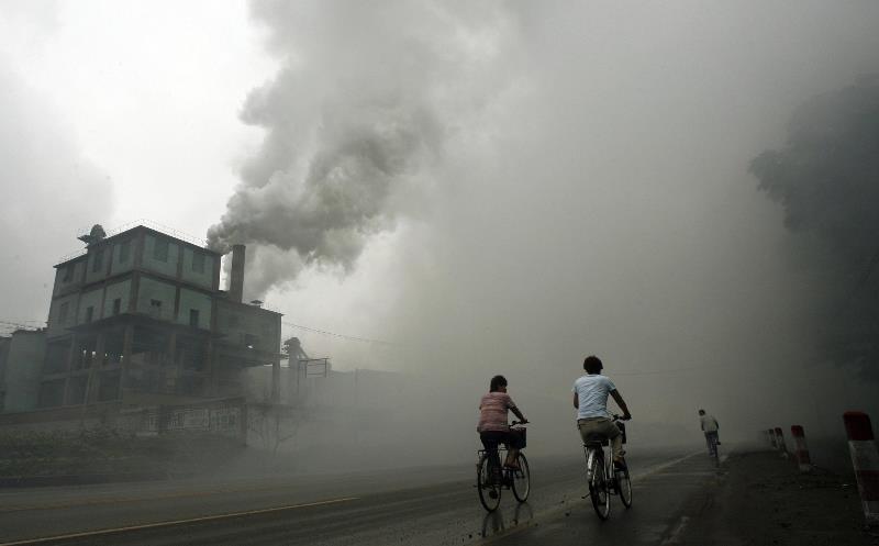 contaminación en China2