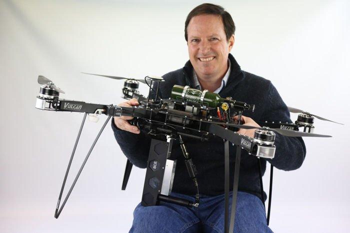 Drones para salvar los bosques
