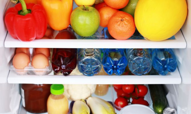 mantener el frigorífico ordenado