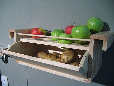 manzana y patatas
