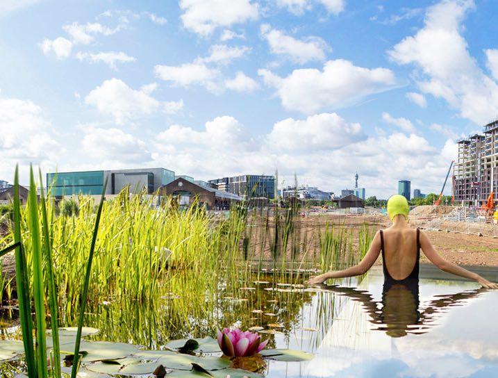 Primera piscina pública natural del Reino Unido