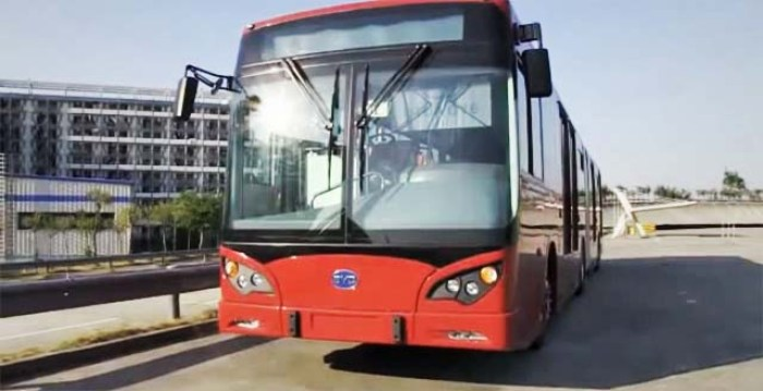 Autobuses electricos china