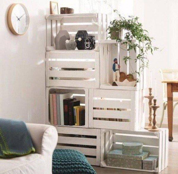 30 ideas creativas de reutilizar o reciclar viejas cajas - Dibujos para decorar cajas de madera ...
