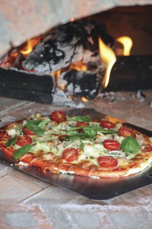 C mo hacer tu propio horno casero para pizzas - Como cocinar en un horno de lena ...