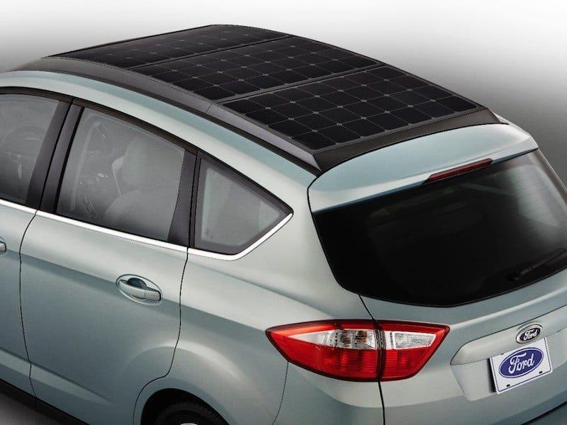 Ford C-MAX Solar Energi paneles solares