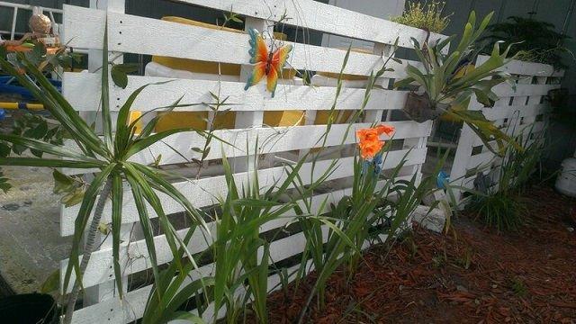 16 formas de hacer vallas con palets - Plantas para vallas ...
