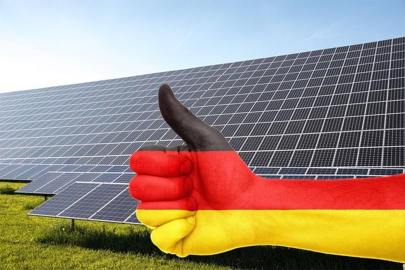 record fotovoltaica Alemania